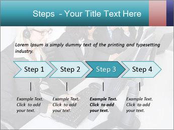 Customer service people PowerPoint Template - Slide 4