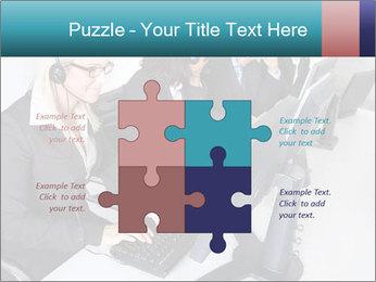 Customer service people PowerPoint Template - Slide 43