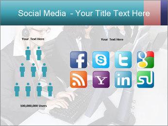 Customer service people PowerPoint Template - Slide 5