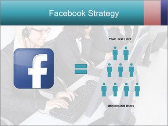Customer service people PowerPoint Template - Slide 7