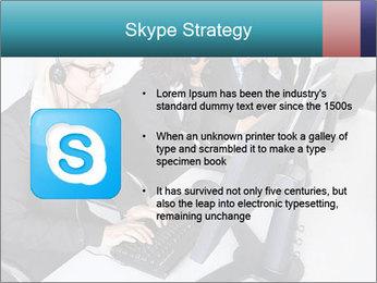 Customer service people PowerPoint Template - Slide 8