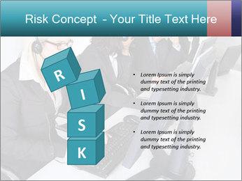 Customer service people PowerPoint Template - Slide 81