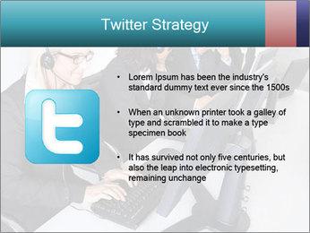 Customer service people PowerPoint Template - Slide 9