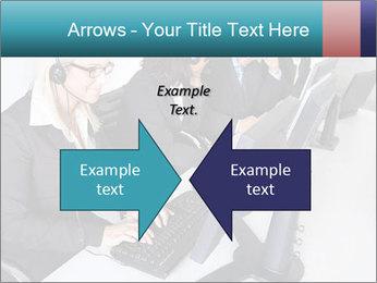 Customer service people PowerPoint Template - Slide 90