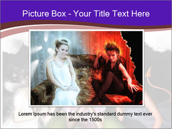 Woman must choose PowerPoint Templates - Slide 16