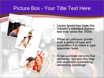 Woman must choose PowerPoint Templates - Slide 17