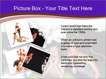 Woman must choose PowerPoint Templates - Slide 23