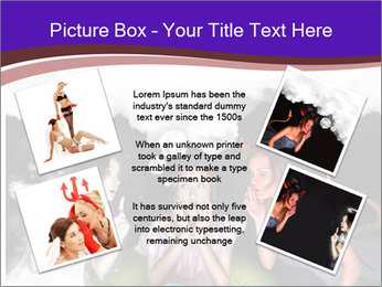 Woman must choose PowerPoint Templates - Slide 24
