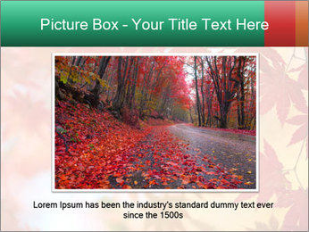 Autumn leaves PowerPoint Template - Slide 16