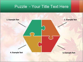 Autumn leaves PowerPoint Template - Slide 40
