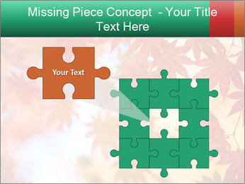 Autumn leaves PowerPoint Template - Slide 45