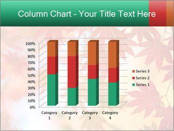 Autumn leaves PowerPoint Template - Slide 50