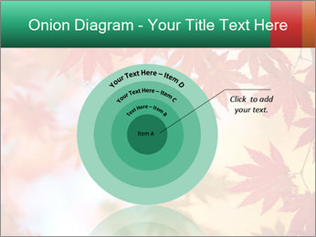 Autumn leaves PowerPoint Template - Slide 61