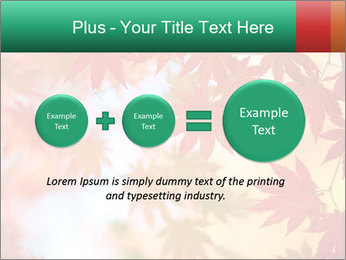 Autumn leaves PowerPoint Template - Slide 75