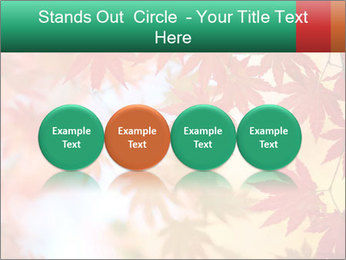 Autumn leaves PowerPoint Template - Slide 76