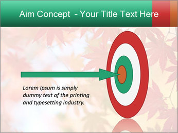 Autumn leaves PowerPoint Template - Slide 83