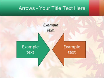 Autumn leaves PowerPoint Template - Slide 90