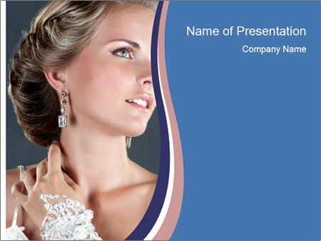 Sexy bride PowerPoint Templates