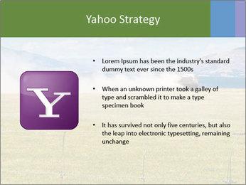 Truck spreading fertilizer PowerPoint Template - Slide 11
