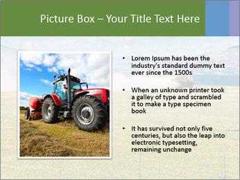 Truck spreading fertilizer PowerPoint Template - Slide 13