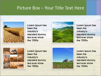 Truck spreading fertilizer PowerPoint Template - Slide 14