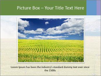 Truck spreading fertilizer PowerPoint Template - Slide 15
