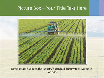 Truck spreading fertilizer PowerPoint Template - Slide 16