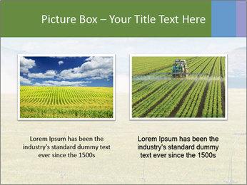 Truck spreading fertilizer PowerPoint Template - Slide 18