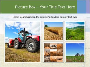 Truck spreading fertilizer PowerPoint Template - Slide 19