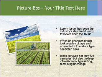Truck spreading fertilizer PowerPoint Template - Slide 20
