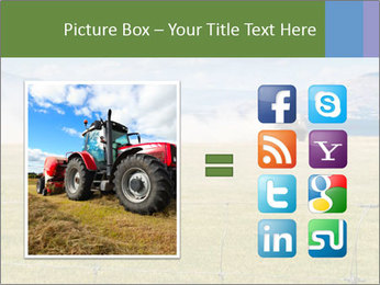 Truck spreading fertilizer PowerPoint Template - Slide 21
