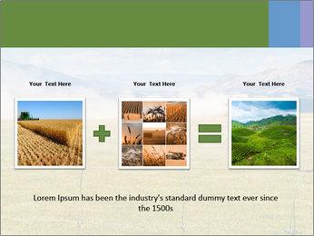Truck spreading fertilizer PowerPoint Template - Slide 22