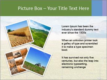 Truck spreading fertilizer PowerPoint Template - Slide 23