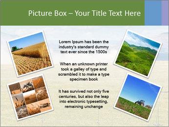 Truck spreading fertilizer PowerPoint Template - Slide 24