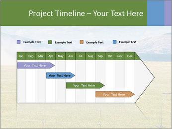 Truck spreading fertilizer PowerPoint Template - Slide 25