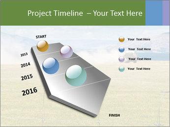 Truck spreading fertilizer PowerPoint Template - Slide 26