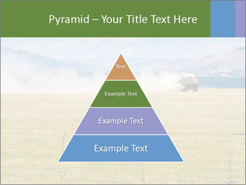 Truck spreading fertilizer PowerPoint Template - Slide 30