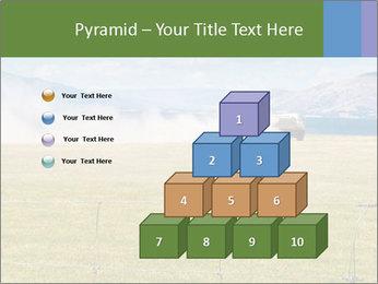 Truck spreading fertilizer PowerPoint Template - Slide 31