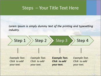 Truck spreading fertilizer PowerPoint Template - Slide 4