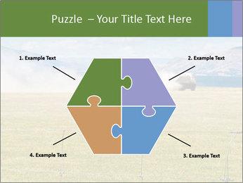 Truck spreading fertilizer PowerPoint Template - Slide 40