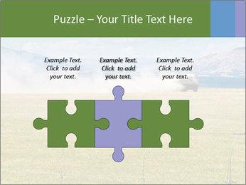 Truck spreading fertilizer PowerPoint Template - Slide 42