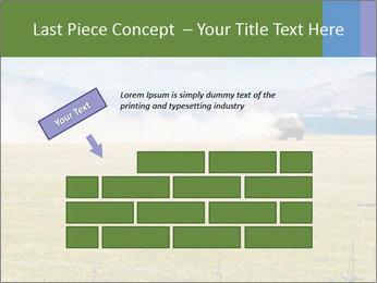 Truck spreading fertilizer PowerPoint Template - Slide 46