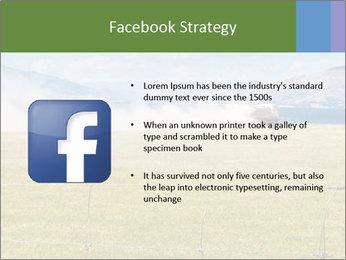 Truck spreading fertilizer PowerPoint Template - Slide 6