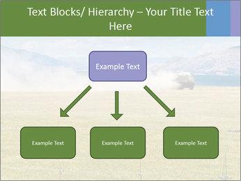 Truck spreading fertilizer PowerPoint Template - Slide 69