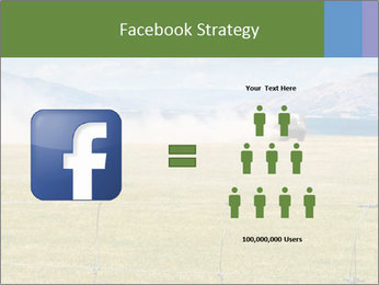 Truck spreading fertilizer PowerPoint Template - Slide 7
