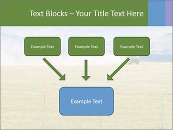 Truck spreading fertilizer PowerPoint Template - Slide 70