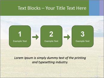 Truck spreading fertilizer PowerPoint Template - Slide 71