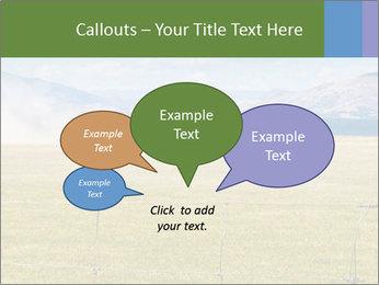 Truck spreading fertilizer PowerPoint Template - Slide 73