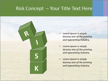 Truck spreading fertilizer PowerPoint Template - Slide 81