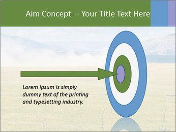 Truck spreading fertilizer PowerPoint Template - Slide 83